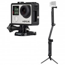 GoPro - Kamera-Set - Hero4 Black & 3-Way Grip