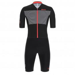 Santini - Skylight Jacket - Cycling skinsuit size S, black/grey