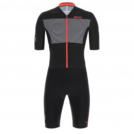 Santini - Skylight Jacket - Cycling skinsuit size XL, black/grey