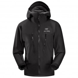 Arc'teryx - Alpha LT Jacket - Hardshelljacke - XL - Black II 6290