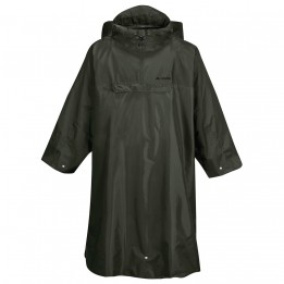 Vaude - Hiking Backpack Poncho - Waterproof jacket size S/M, black