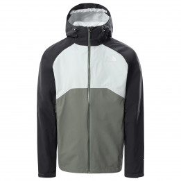The North Face - Stratos Jacket - Waterproof jacket size S, grey/black