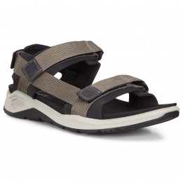 Ecco - X-Trinsic Slim Strap - Sandales taille 47, noir/gris