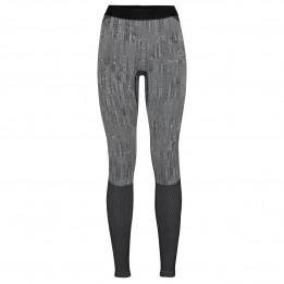 Odlo - Women's Base Layer Bottom Long Blackcomb - Synthetisch ondergoed, grijs/zwart