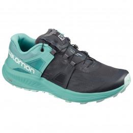 Salomon - Women's Ultra Pro - Trailrunningschoenen, turkoois/zwart/grijs
