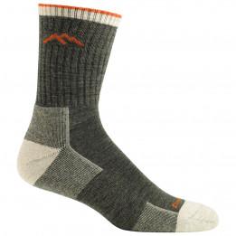 Darn Tough - Hiker Micro Crew Midweight With Cushion - Walking socks size XXL, black/olive/grey