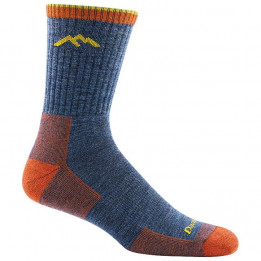 Darn Tough - Hiker Micro Crew Midweight With Cushion - Walking socks size XL, blue/red