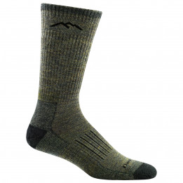 Darn Tough - Hunter Boot Midweight With Cushion - Walking socks size L, black/olive