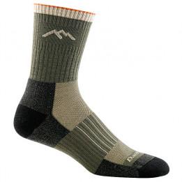Darn Tough - Hunter Micro Crew Midweight With Cushion - Walking socks size L;M;XL, black/olive/grey