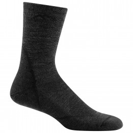 Darn Tough - Light Hiker Micro Crew Lightweight With Cushion - Walking socks size XXL, black