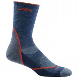 Darn Tough - Light Hiker Micro Crew Lightweight With Cushion - Walking socks size XL, blue