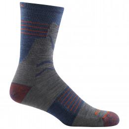 Darn Tough - Pinnacle Micro Crew Lightweight With Cushion - Walking socks size XL, black/blue