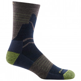 Darn Tough - Pinnacle Micro Crew Lightweight With Cushion - Walking socks size XL, black