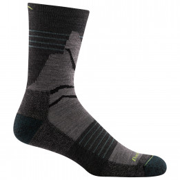 Darn Tough - Pinnacle Micro Crew Lightweight With Cushion - Walking socks size L;M;XL, black;black/blue