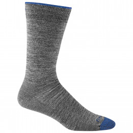Darn Tough - Solid Crew Lighweight - Sports socks size L, grey/black