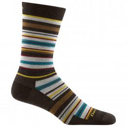Darn Tough - Static Crew Lightweight - Sports socks size XL, black/grey/brown