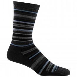 Darn Tough - Static Crew Lightweight - Sports socks size XL, black