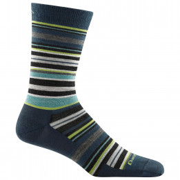 Darn Tough - Static Crew Lightweight - Sports socks size L, black/grey