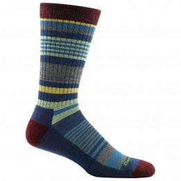 Darn Tough - Unstandard Stripe Crew Lightweight With Cushion - Sports socks size L, black/blue