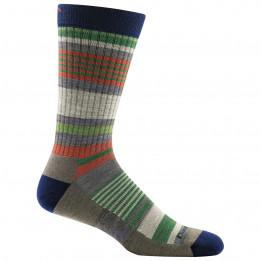 Darn Tough - Unstandard Stripe Crew Lightweight With Cushion - Sports socks size XL, grey/black/olive