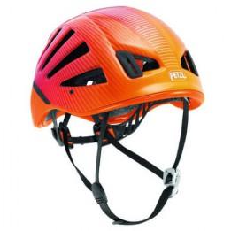 Produktabbildung: Petzl - Meteor III+ - Kletterhelm - Rot / Orange