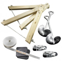 Produktabbildung: Slackline-Tools - Frameline Set - Slackline Set - 10 m