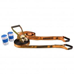 Produktabbildung: Elephant Slacklines - wing 3.5 Set - Slackline-Set - 15 m - Orange