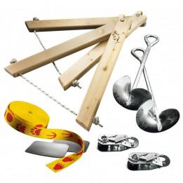 Produktabbildung: Slackline-Tools - Kids Frameline Set 10 - Slackline-Set - 10 m