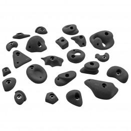 Produktabbildung: KMZ Holds - Set 1 - 22er S-XL - Klettergriffset - Grau
