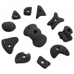 Produktabbildung: KMZ Holds - Set 4 - 11er S-XL - Klettergriffset - Grau