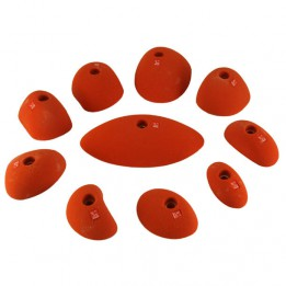 Produktabbildung: Ocun - Holds Set 2 - Slopers  - Klettergriff-Set - Red