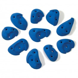 Produktabbildung: Metolius - Screw-On Handholds 10er-Pack - Blue Ribbon
