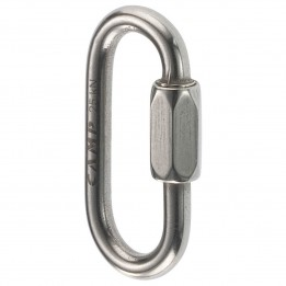 Produktabbildung: Camp - Oval Quick Link - Schraubglied (inox) - 5 mm