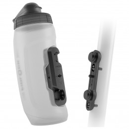 ComprarFidlock - Bottle 590 + Bike Base - Bidón para bicicleta size 590 ml, gris/negro