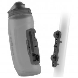Fidlock - Bottle 590 + Bike Base - Bidón para bicicleta size 590 ml, gris/negro