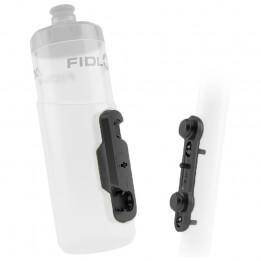 Fidlock - Bottle 600 + Bike Base - Bidón para bicicleta size 600 ml, blanco/gris
