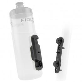 Fidlock - Bottle 600 + Bike Base - Bidón para bicicleta size 600 ml, gris/negro;blanco/gris