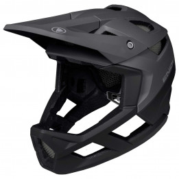 Endura - MT500 Full Face Helm - Casco de ciclismo size S/M, negro