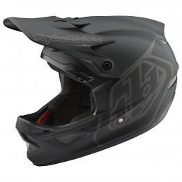 Troy Lee Designs - D3 Helmet - Casco integral size S, negro/gris