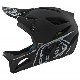 Troy Lee Designs - Stage Helmet MIPS - Casco integral size M/L;XL/XXL;XS/S, negro;negro/gris/rojo