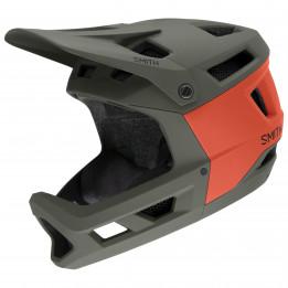 Smith - Mainline Mips - Casco integral size 51 - 55 cm, negro/gris/rojo