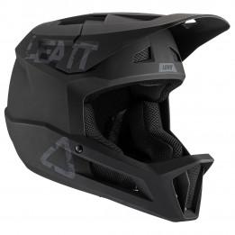 Leatt - MTB 1.0 DH Helmet - Casco de ciclismo size S, negro