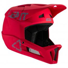 Leatt - MTB 1.0 DH Helmet - Casco de ciclismo size S, rojo/fucsia/negro