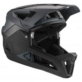 Leatt - Helmet MTB 4.0 Enduro - Casco de ciclismo size L, negro/gris