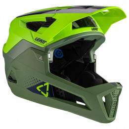 Leatt - Helmet MTB 4.0 Enduro - Casco de ciclismo size S, oliva/verde/negro