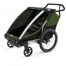 Thule - Chariot Cab 2 - Remolques para niños negro/gris