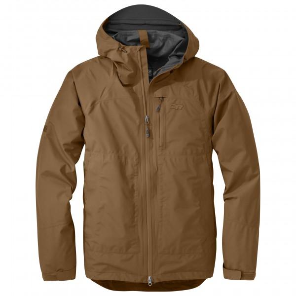 Outdoor Research - Foray Jacket - Hardshelljacke Gr L braun