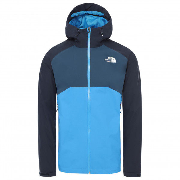 The North Face - Stratos Jacket - Waterproof Jacket Size Xl  Blue/black