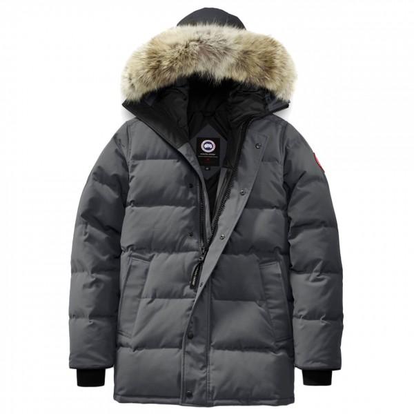 Canada Goose - Carson Parka - Mantel Gr M schwarz/grau Preisvergleich