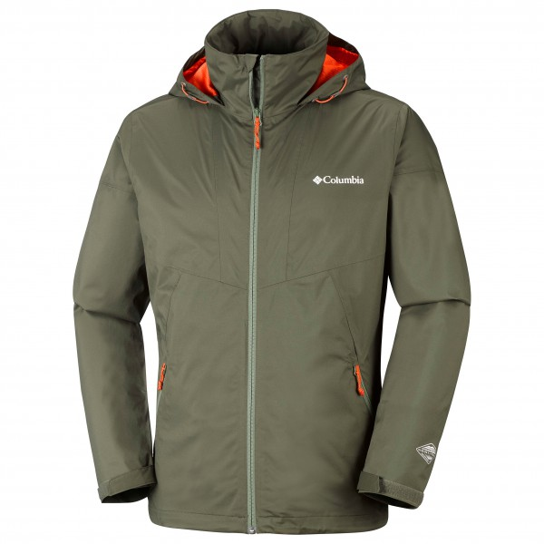 Columbia - Inner Limits Jacket - Hardshelljacke Gr S - Regular oliv/grau